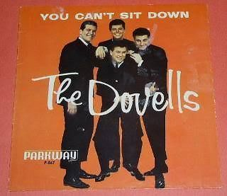 Primary image for The Dovells Picture Sleeve Vintage You Can't Sit Down