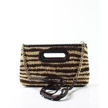 Michael Kors Rosalie Large Clutch Bag Natural - $120.10