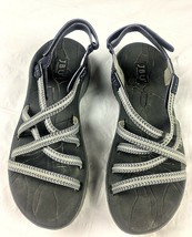 Jambu Adventure Co Sport Sandals Women's 9M Mykonos Grey Hypergrip Sole ... - $60.17
