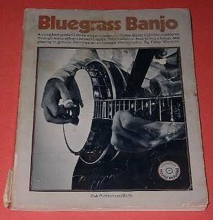 Primary image for Bluegrass Banjo Songbook Tablature 1974 With Flexidisc