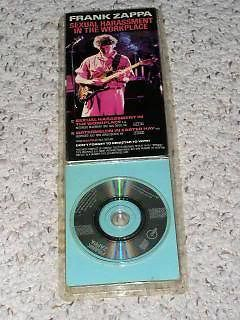 Primary image for Frank Zappa Rykodisc Vintage 1988 Sexual Harassment