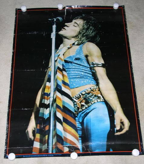Primary image for BIG O POSTERS ROD STEWART POSTER VINTAGE UK IMPORT