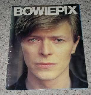 Primary image for David Bowie Bowiepix UK Softbound Picture Book