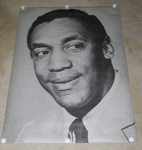 Primary image for BILL COSBY POSTER VINTAGE 1967 FAMOUS FACES