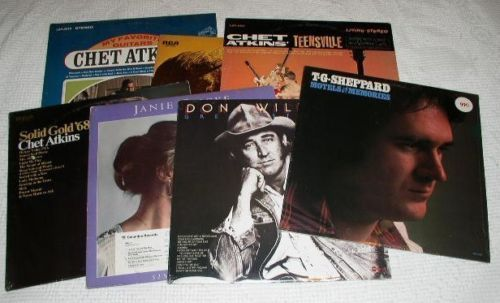 Primary image for COUNTRY ALBUMS LOT OF 7 VINTAGE CHET ATKINS OTHERS