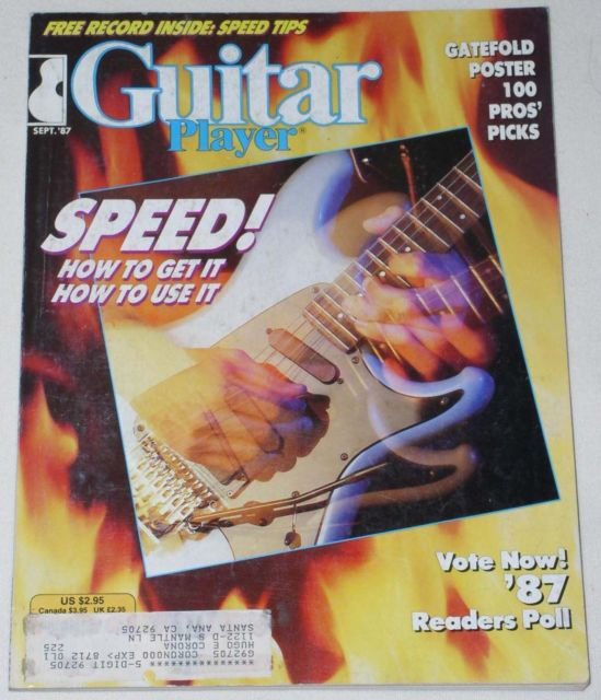 Primary image for GUITAR PLAYER MAGAZINE VINTAGE 1987 GUITAR INSTRUCTION