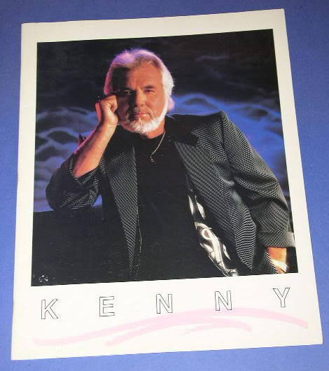 Primary image for KENNY ROGERS VINTAGE CONCERT TOUR PROGRAM 1988