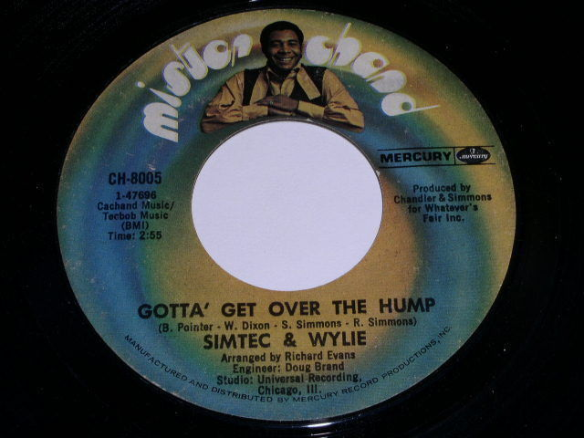 Primary image for Simtec & Wylie Gotta Get Over The Hump 45 Rpm Record Mister Chand Label