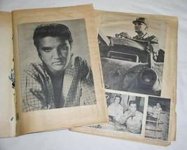 ELVIS PRESLEY VINTAGE HANDMADE 1950'S SCRAPBOOK - $74.99