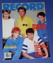 DURAN DURAN RECORD MAGAZINE VINTAGE 1984 SIMON LE BON - $24.99