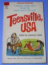 Teensville Usa Paperback Book Vintage 1964 Lariar - $24.99