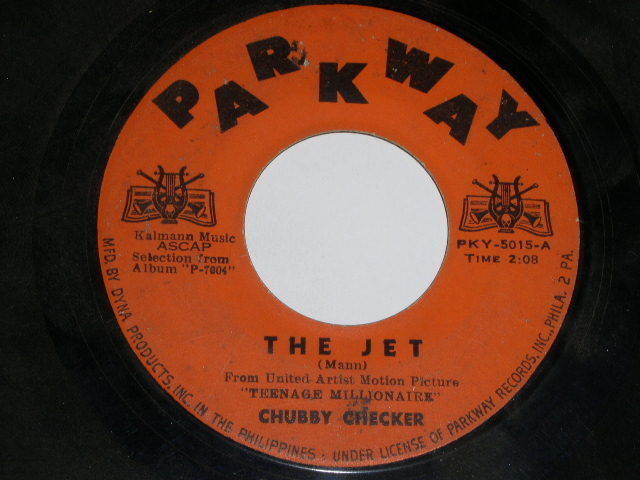 Primary image for Chubby Checker The Jet 45 Rpm Phono Record Philippine Import