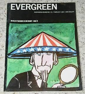 Primary image for Evergreen Magazine Vintage Counterculture 1967 Anti War
