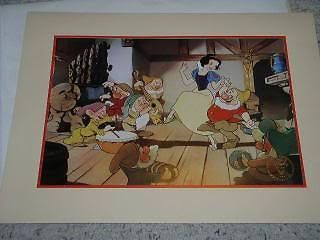 Primary image for Snow White Lithograph Vintage 1994 Exclusive Commemorative