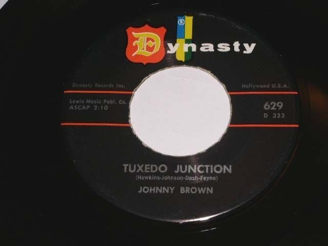 Primary image for Johnny Brown Tuxedo Junction Splitsville 45 Rpm Record Dynasty Label