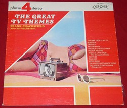 FRANK CHACKSFIELD THE GREAT TV THEMES VINTAGE LP - $34.99