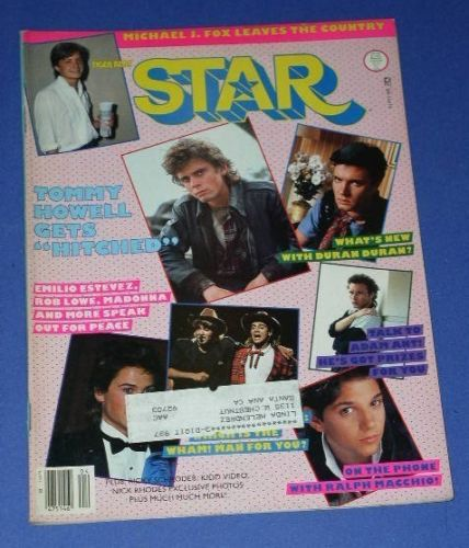 Primary image for DURAN DURAN TIGER BEAT STAR MAGAZINE VINTAGE 1986