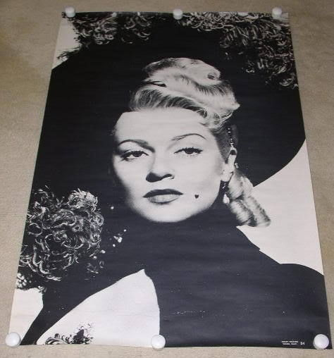 Primary image for LANA TURNER POSTER VINTAGE TRILBY