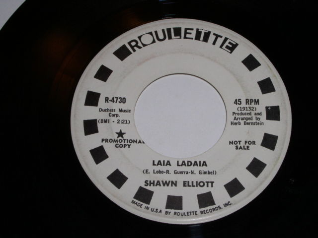 Primary image for Shawn Elliott You Opened Up My Eyes 45 Rpm Record Roulette Label Promotional