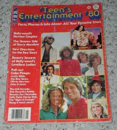 Primary image for Bee Gees Teen's Entertainment Magazine Vintage 1980