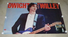 DWIGHT TWILLEY PROMOTIONAL POSTER VINTAGE 1984 - $49.99