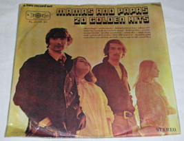 The Mama's And The Papa's Taiwan Import Record Album Lp - $39.99