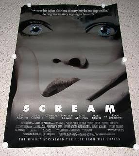 Primary image for Scream Movie Poster 1996 Miramax