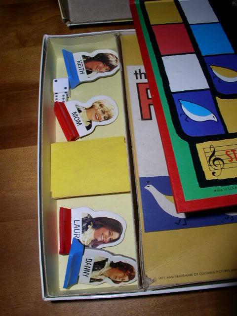 Partridge Family Board Game 1971 Milton Bradley Cassidy