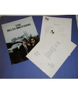 THE BLUES BROTHERS VINTAGE MOVIE PRESS KIT WITH FOLDER - $64.99