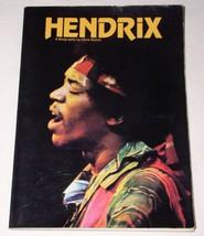 JIMI HENDRIX VINTAGE 1978 JIMI HENDRIX SOFTBOUND BOOK - $49.99