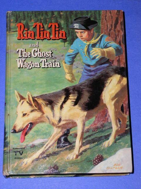 Primary image for RIN TIN TIN WHITMAN BOOK VINTAGE 1958