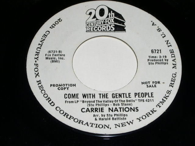 Primary image for Carrie Nations In The Long Run 45 Rpm Record 1970 Beyond Valley Of The Dolls
