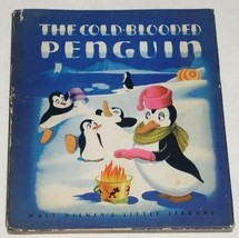 COLD BLOODED PENGUIN DISNEY BOOK 1946 DUST COVER - $39.99