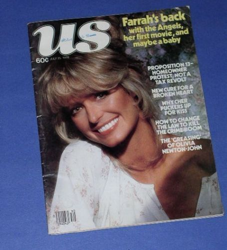 Primary image for FARRAH FAWCETT US MAGAZINE VINTAGE 1978 CHARLIES ANGELS