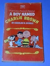 Peanuts Paperback Color Book Vintage 1971 Charlie Brown Snoopy - $24.99