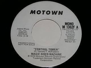 Primary image for Magic Disco Machine Control Tower 45 Rpm Record
