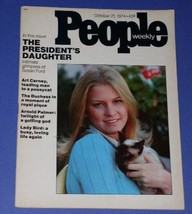 SUSAN FORD PEOPLE WEEKLY MAGAZINE VINTAGE 1974 - $34.99