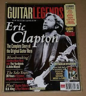 Primary image for Eric Clapton Guitar Legends Magazine 2005
