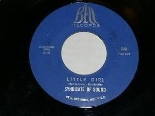 Primary image for Syndicate Of Sound Little Girl 45 Rpm Record