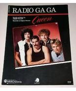 Queen Sheet Music Vintage 1983 Radio Ga Ga - $24.99