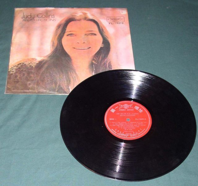 JUDY COLLINS RARE TAIWAN IMPORT RECORD ALBUM LP - $24.99