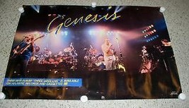Genesis Poster Three Sides Live Promotional Phil Collins - $65.99