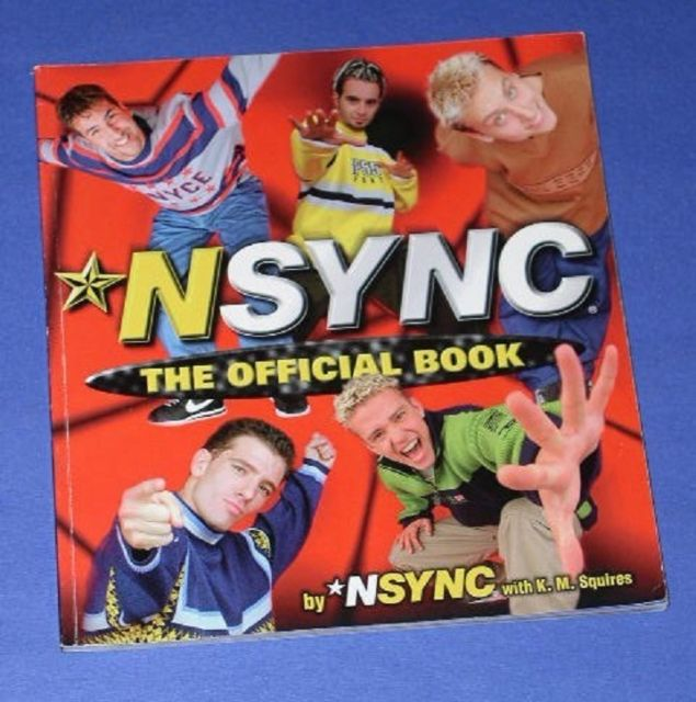 Primary image for N SYNC SOFTBOUND BOOK VINTAGE 1998 THE OFFICIAL BOOK
