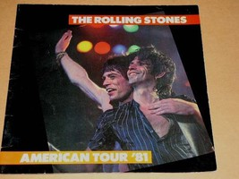 The Rolling Stones Concert Tour Program Vintage 1981 Tattoo You - $74.99