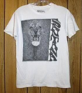 Primary image for Santana T Shirt First Album Pic Reproduction 20009
