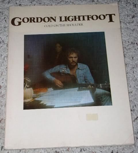 Primary image for Gordon Lightfoot Songbook Vintage 1975 Folk Music