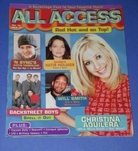 N SYNC  SOFTBOUND BOOK VINTAGE 2000 ALL ACCESS - $24.99