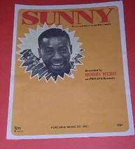 Bobby Hebb Sheet Music Vintage 1966 Sunny - $34.99