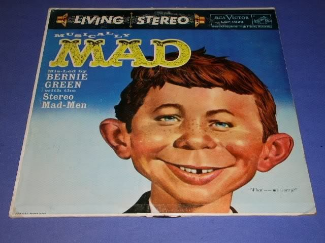 Primary image for MUSICALLY MAD VINTAGE RECORD ALBUM LIVING STEREO 1959