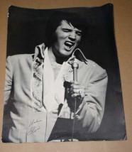 Elvis Presley Vintage Concert Photo 11 X 14 (2) - $39.99